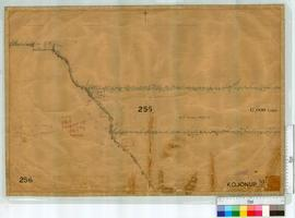 Locations 255 by W.H. Angove, Fieldbooks 23 and 33 near Southern Railway [scale: 30 chains to an ...