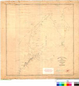 Chart showing explorations about Roebuck Bay (and surrounds) up to 1864. Compiled by the Survey O...