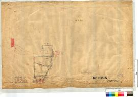 Mt Erin Estate Subdivision Sheet 1A lots 13-19 and 98 with roads by J.H. Breen and W.J. Roe, Chap...
