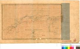 C.C. Hunt - explorations eastward of York, 1864-1866 [reduction from original], Survey Office &qu...