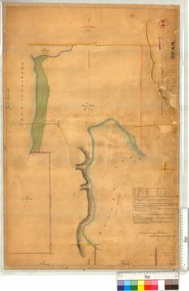 Survey of Monger's and Herdsman's Lakes and Locations Ah, Ap & Aq, by A. Hillman [s...