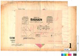 Babakin Sheet 1 [Tally No. 503690].