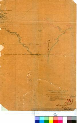 F.T. Gregory - Route from Doubtful Island Bay to Cape Riche, March 1850 (Sheet 1).