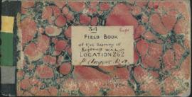 34. Field book of the survey of Kojonup W.A.L. Co. Location 262. per Angove. W.H.