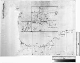 Various plans of South Coast & Kombanah Bay & Leschenault Inlet [b/w photographic print only].