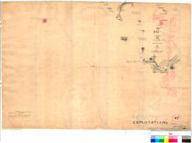 A. Hillman, Colonial Draftsman - Track from Kelmscott to the Murray, 1835 (Sheet 1). Routes of Hi...