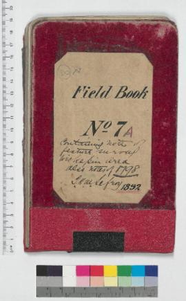 J.H.M. Lefroy Field Book No. 7A