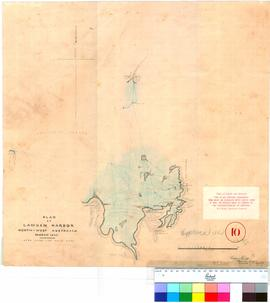 Map of Camden Harbour, North-West Australia, March 1865 - William Phelps Assistant Surveyor, Gera...