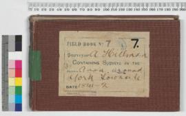 A. Hillman Field Book No. 7