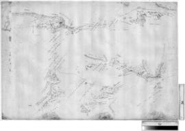 Canning Stock Route - plan of original survey by A.W. Canning near McKay Ranges, c. 1906 [Tally N...