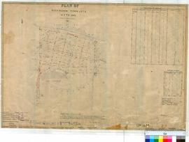 Rockingham 22/1. Plan of Rockingham Town, Lots 123-145 bounded by Esplanade, Fisher Street and Sa...