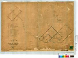 Locations, Sheet 4, Lots 9, 10, 297, 216 (SOL 81) by A.C. Gregory Fieldbook 9, later additions by...