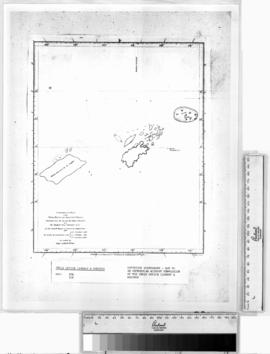 Comparative Plans of the Tryall Rocks and Adjacent Island, compilation by Captain Leftock Wilson,...