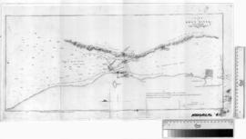 Chart of Swan River by Captain J. Stirling [b/w photographic print only].
