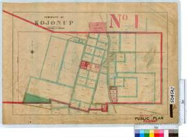 Kojonup Sheet 1A [Tally No. 504542].