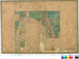 Northam 13. Compilation Plan of Northam Townsite showing the Avon and Mortlock Rivers by C.H. Roe...