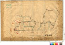 Mt Erin Estate Subdivision Sheet 2A Lots 43, 49-54, 72-74 with roads by J.H. Breen and W.J. Rae -...