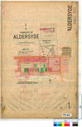 Aldersyde Sheet 1 [Tally No. 503664].