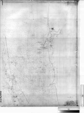 Chart of Fremantle Area (Shows Townsite of Fremantle) [b/w photographic print only].