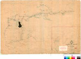 J. Forrest - exploration routes in search of Dr Leichardt and party, 1869.