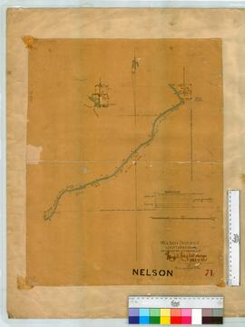 Nelson District Locations 25 and 40. As marked on the ground, 1864 and 1865