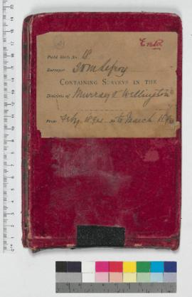 J.H.M. Lefroy Field Book No. 18