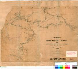 F.T. Gregory - explorations in North Western Australia, April-November 1861 (Additions to 1865). ...