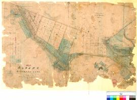 Albany 30C. No 3 Albany, Suburban Lots as marked by Philip Chauncy, Assistant Surveyor, 1852 [sca...