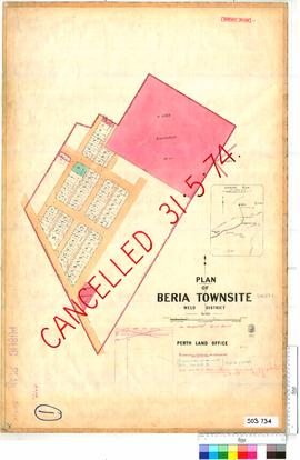 Beria Sheet 1 [Tally No. 503734].
