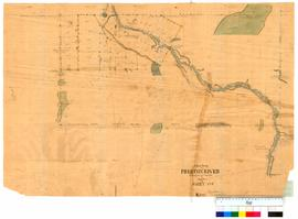 Chain survey of the Preston River by Thomas Watson, sheet 8 shows Picton townsite [Tally No. 0051...