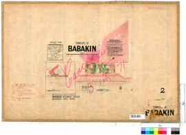Babakin Sheet 2 [Tally No. 503691].