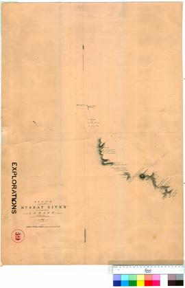 A. Hillman - Route from the Murray River towards Albany, 1837 (Sheet 1).