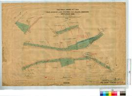 Avon, plan showing land required for railway purposes. Newcastle to Bolgart Railway by J. Stoddar...