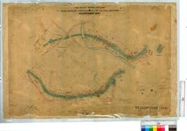 """The Public Works Act 1902"". Plan showing land required for railway purposes. Bridgetow..."