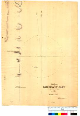 Chain survey of the Leschenault Inlet by Thomas Watson, sheet 7 [Tally No. 005166].