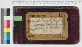 G.A. Lefroy Field Book No. 1. Containing surveys in the districts Swan and Melbourne