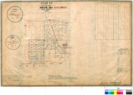 Glen Forrest 177/1. Plan of Lots 95 to 123 Smith's Mill, Swan District [name adjusted to Gle...