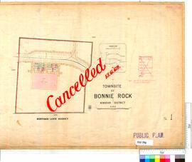 Bonnie Rock Sheet 1 [Tally No. 503796].