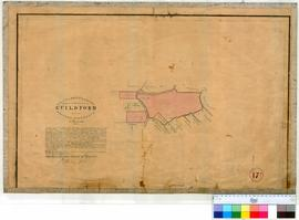 Guildford 17F. Plan of boundaries proposed for the townsite of Guildford in Western Australia, 7 ...