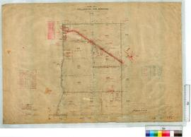 Near Mangowine (North and South of Railway line) by A.J. Wells, Fieldbook 157 [scale: 20 chains t...