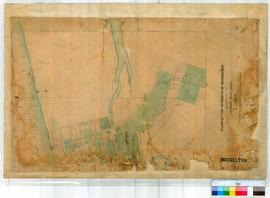 Busselton 27. Plan of the Townsite of Busselton by H. M. Ommanney, Assistant Surveyor.