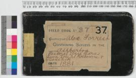 A. Forrest Field Book No 37