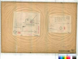Roebourne 3/1+2. Plan of Roebourne Townsite (2 sheets of Brockman's). (3/1) Lots 25-35, 259-...