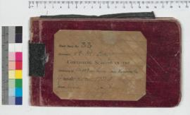 J.H.M. Lefroy Field Book No. 33