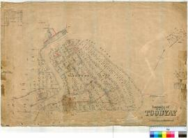 Toodyay West 11/2. Plan of West Toodyay showing Suburban Lots between Leeder Street, Avon River a...