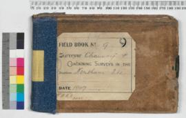 P.L.S. Chauncy Field Book No. 9