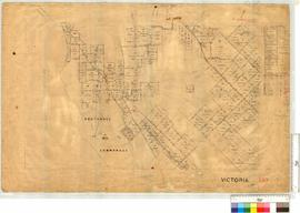 Various Locations around Bootenall (Plan west of OP 158 Vic) by A.J. Wells and others [scale: 20 chains to an inch].