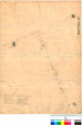 Survey of part of the Avon River, by Thomas Watson (sheet 1).