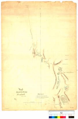 Road from the Dandalup Bridge to Fremantle, Sheet 3. From 32 mile peg to Fremantle by T. Watson [...
