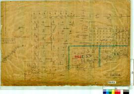 East A [800 chain plan, Tally No. 506153].
